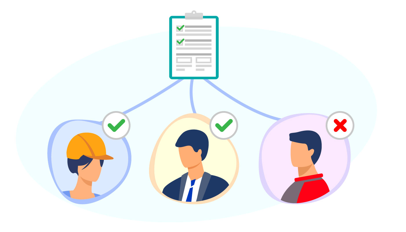 Send quick surveys and ask for feedback from relevant stakeholders