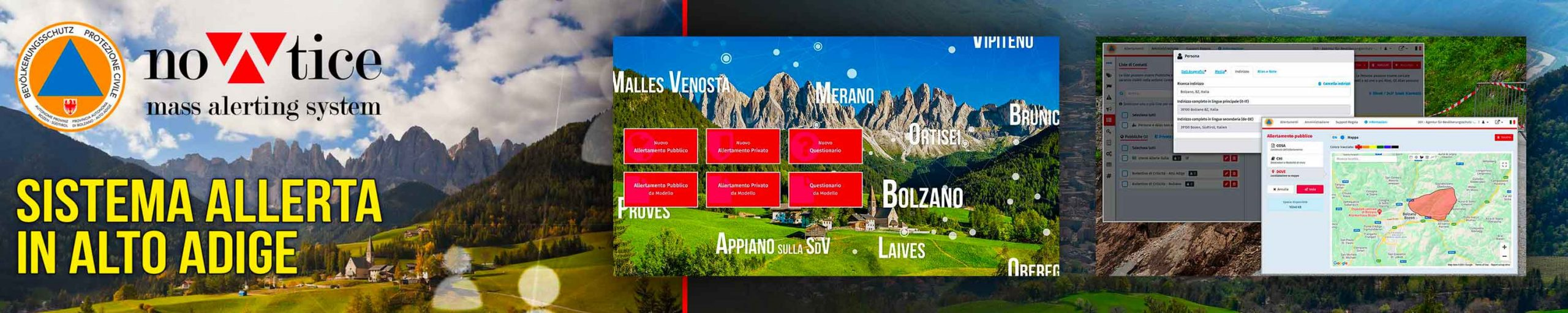 Banner Bolzano - Use CASES - nowtice